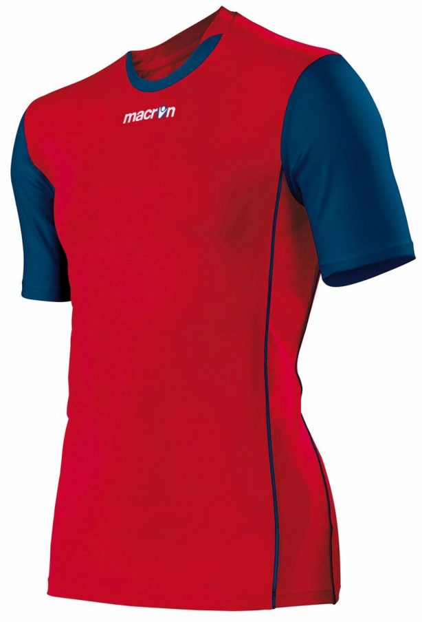 Congo shirt red_navy