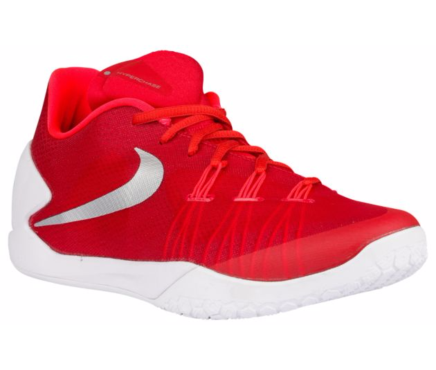 Nike Hyperchase red white silver