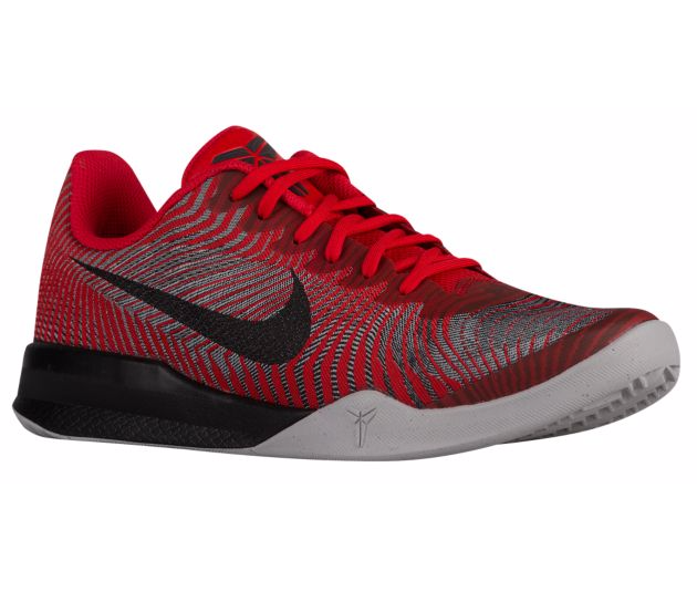 Nike Kobe Mentality II red black grey