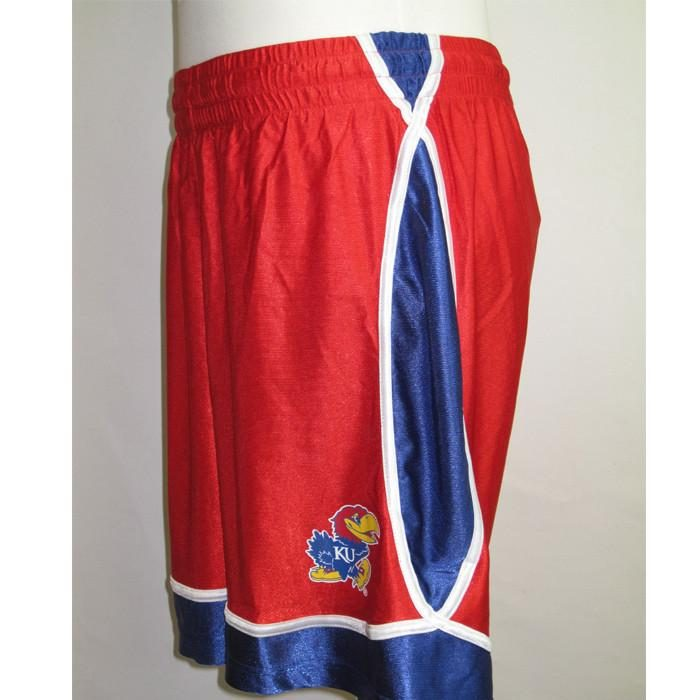 kansas shorts red